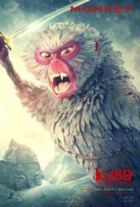 Print New Kubo Trailer and Posters New Kubo Trailer and Posters KUBO2 Monkey 203x300