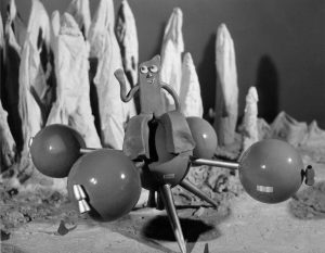 Gumby Art Clokey stop motion The History of Stop Motion – In A Nutshell Gumby 1950s 300x233