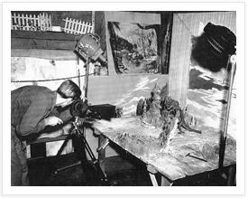 Ray Harryhausen Animating ray harryhausen Ray Harryhausen: The Legendary Life of an Animation Master animating jupitarian