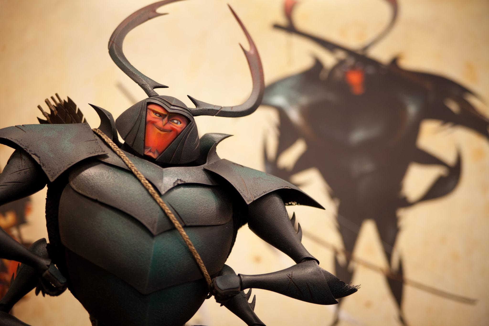 KUBO AND THE TWO STRINGS Kubo and the Two Strings – Set Visit beetle