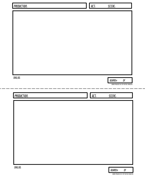 Resources Storyboard HD BLANK Preview