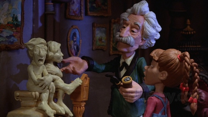 Remembering Will Vinton – Legend of Claymation Mark Twain Claymation