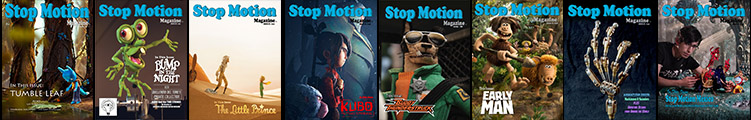 Stop Motion Magazine 2019 Subscriptions + FREE ISSUES PROMO Issues Banner