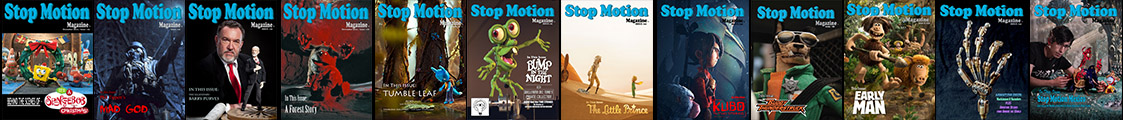 Stop Motion Magazine 2019 Subscriptions + FREE ISSUES PROMO Issues Banner Wide