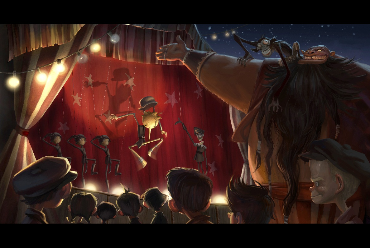 """EXCLUSIVE!!! Del Toro's """"Pinocchio"""" to be Produced in US and Mexico ToroPinocchio"""