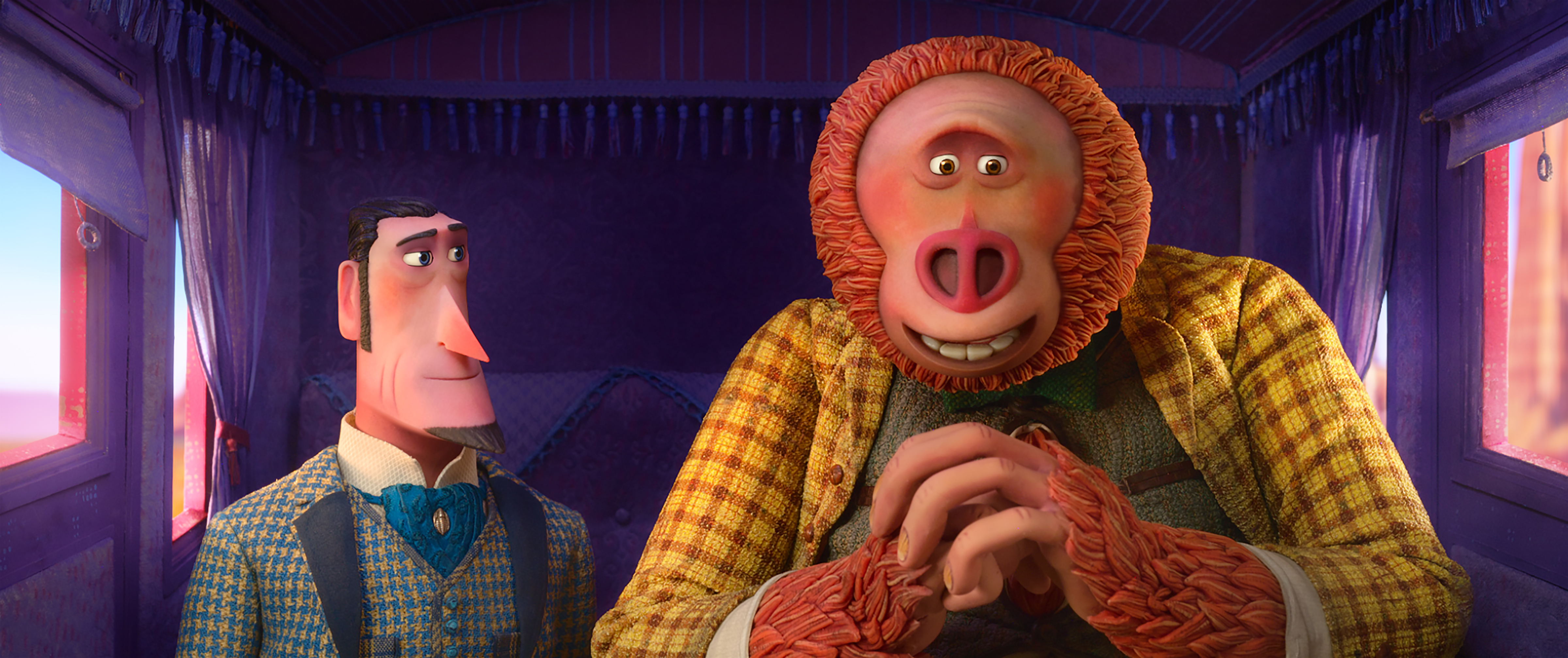 LAIKA – Set Tours of Missing Link production… Missing Link Carrage