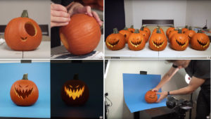 Kevin Parry animates pumpkins  Halloween Pumpkins -by Kevin Parry PmpknTodo 300x169