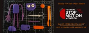 Festival Stop Motion Montreal 2020  Festival Stop Motion Montréal – Call For Entries FestSMMontreal 300x114