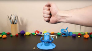 Trent Shy Blue Animation The Blue Claymation, by Trent Shy TrentShyBlue2 300x167