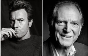 Ewan McGregor as Jimminy Cricket and David Bradley as Gepetto Netflix announces cast of Del Toro´s Pinocchio, with date release 2021 Pino1 300x191