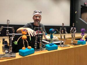 Stop Motion Montréal event: Ball-and-socket Armature Workshop with Erik Goulet ballAndSocketArmature 300x225