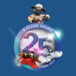 Shaun the Sheep 25 years of A Close Shave! Shaun the Sheep 300x300