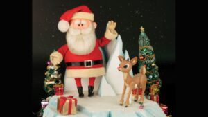 Rudolph and Santa  Original 'Rudolph the Red Nosed Reindeer' puppets to be auctioned ca times