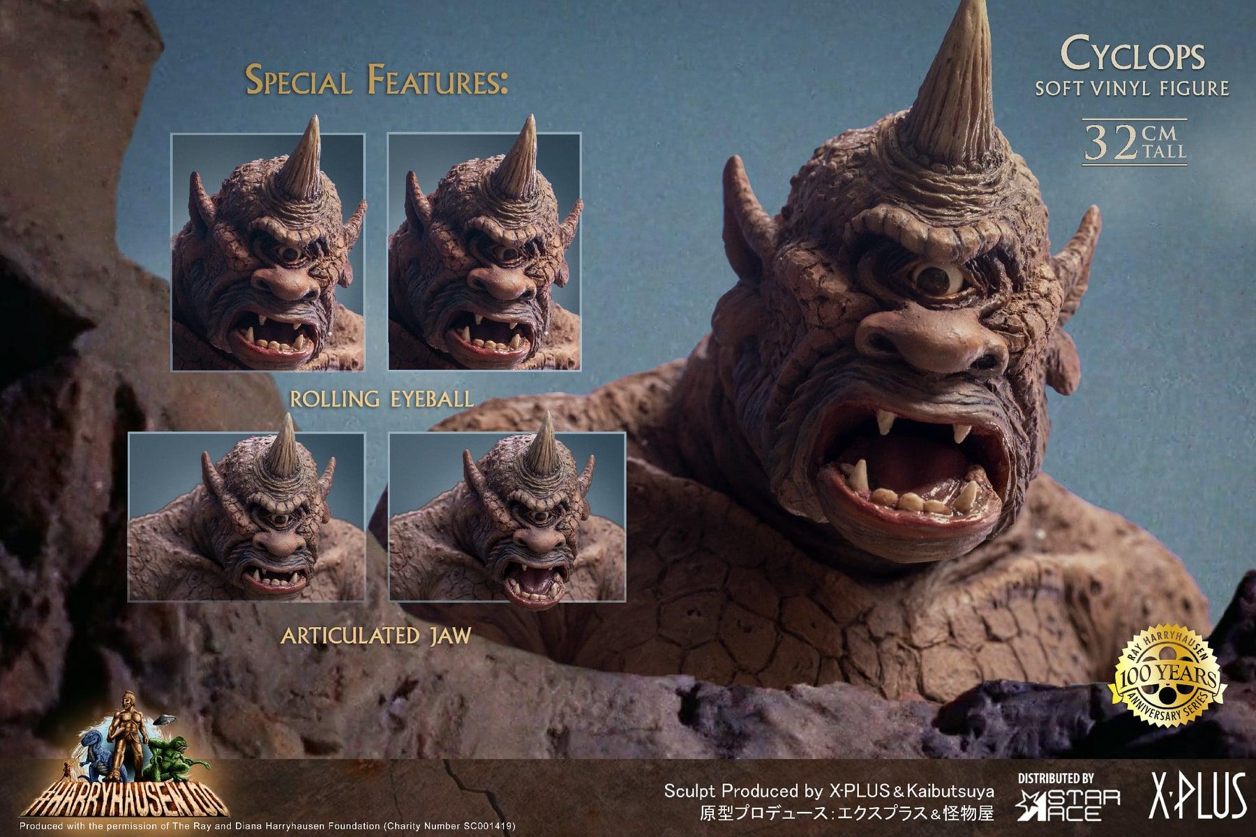 auto draft Pre-Order Harryhausen Star Ace Toys 12.5″ Cyclops Cyclops 09