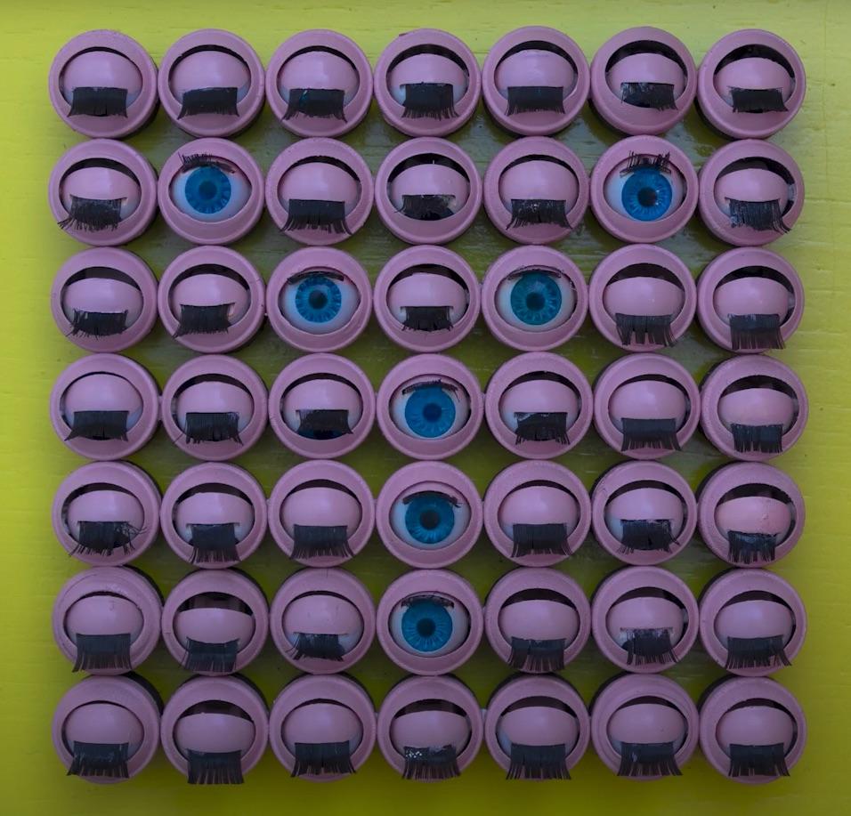 Eye Pixel Stop Motion – by Dina Amin Eye Art